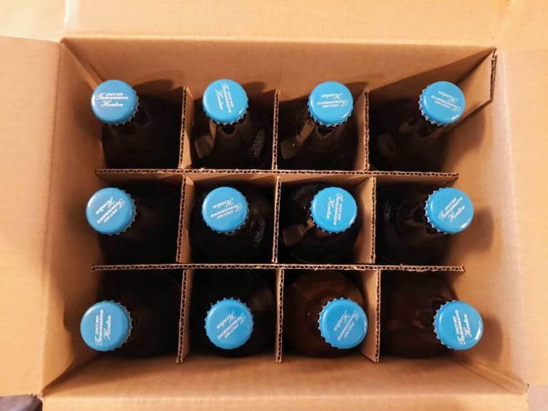 A box of 12 beers from Tamamura Honten Shiga Kogen