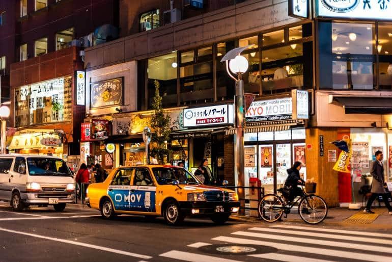 Hyakunincho in Shinjuku