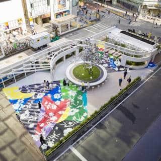 Shinjuku East Square – Public Art