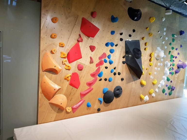 Lattest bouldering wall