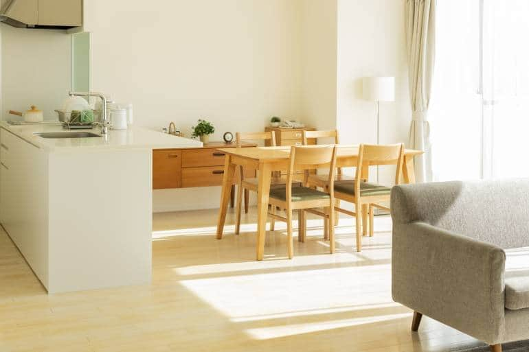 decorate a small japanese apartment