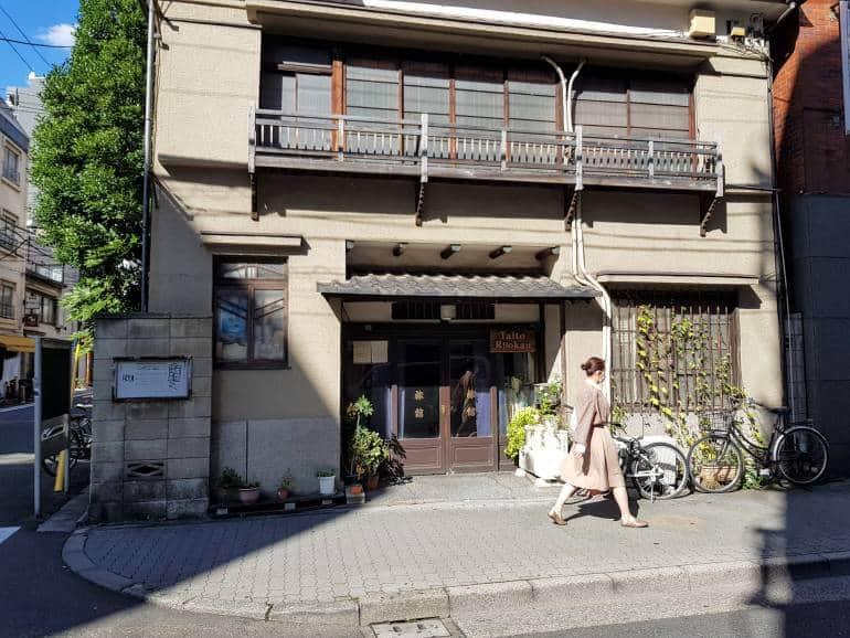 Taito Ryokan exterior