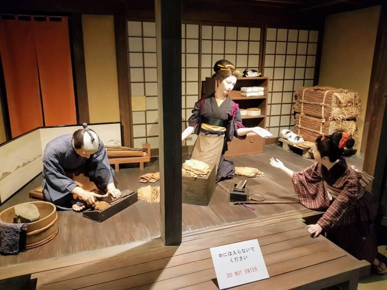 An Edo-era Tobacconist