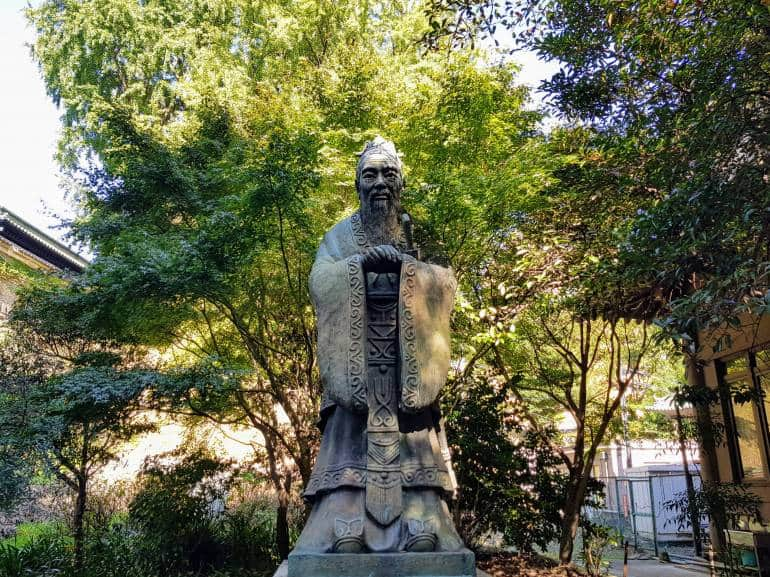 World's largest Confucius statue