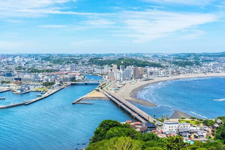Enoshima skyline, Kanagawa Prefecture