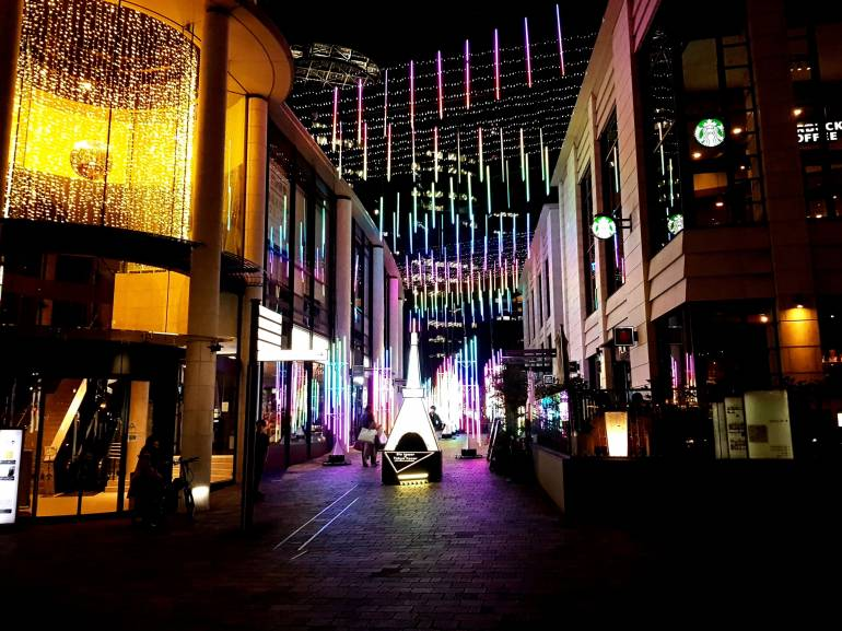 Akasaka Sacas Christmas Illumination