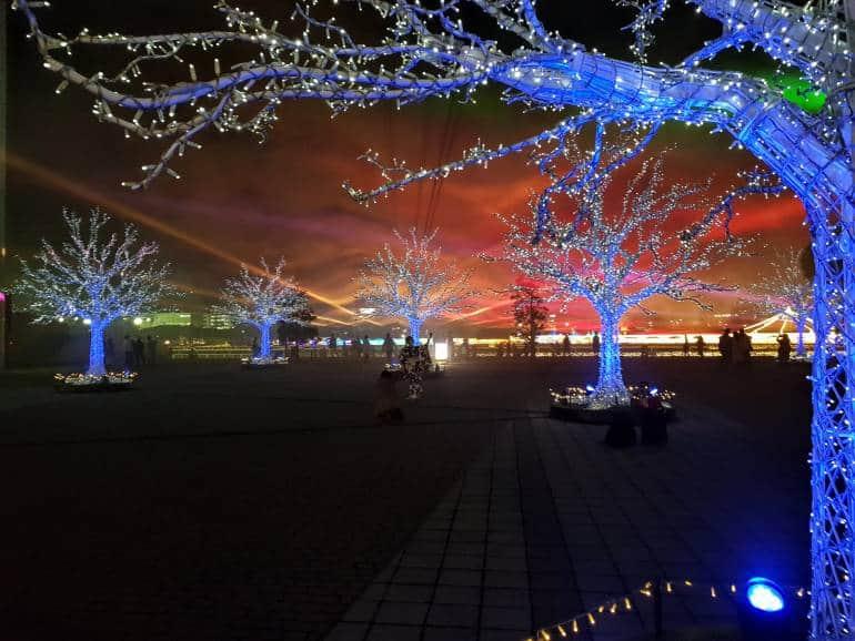 Aurora Forest Tokyo Mega Illumination