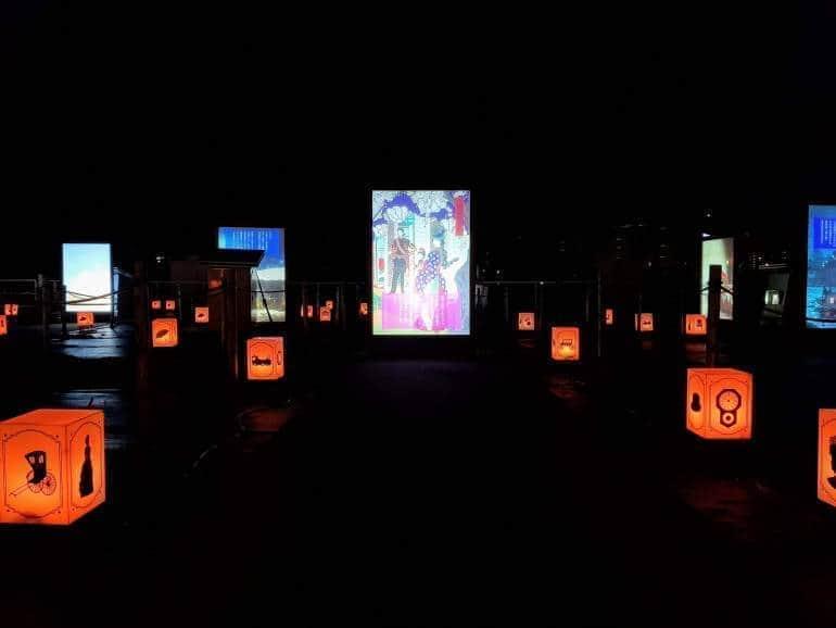 Meiji Surprise at Tokyo Mega Illumination