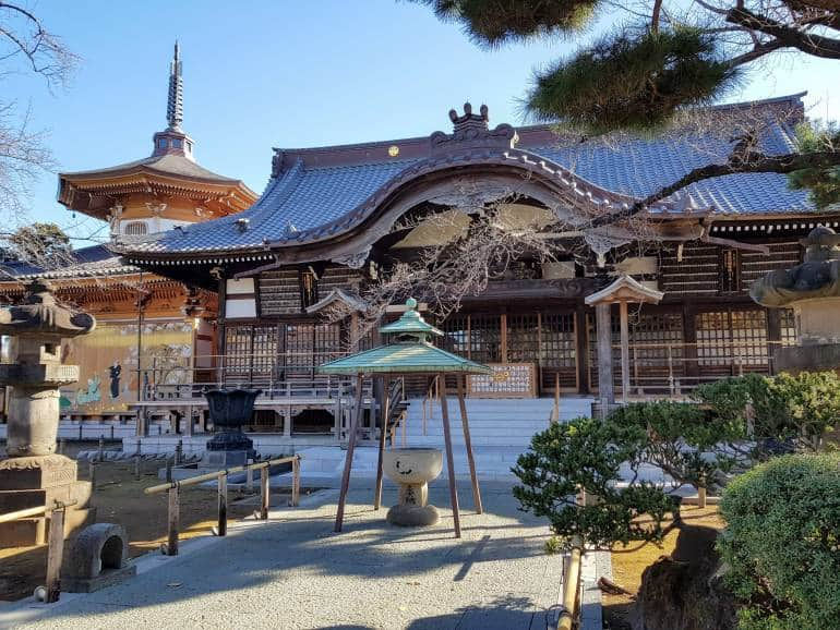 Yutenji Temple Main Hall