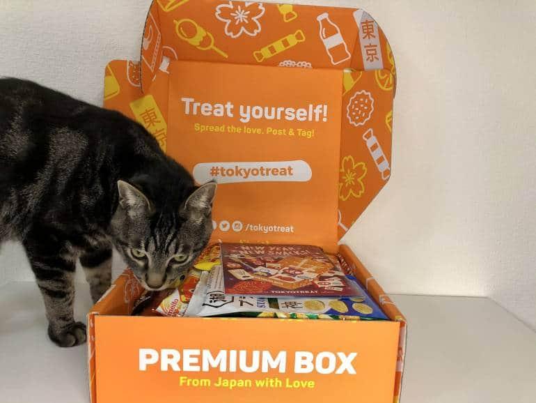 enzo sniffing tokyo treat box