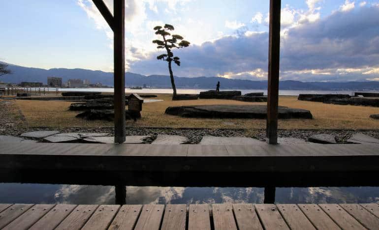 Lake Suwa Footbath View