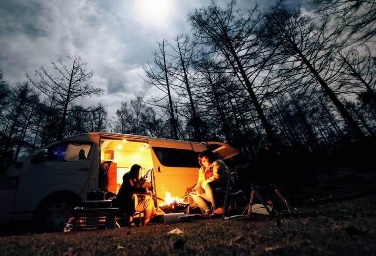 Night Camping Dream drive - Nagano road trip