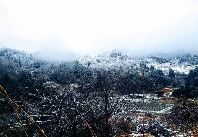 Snowy View Nagano road trip