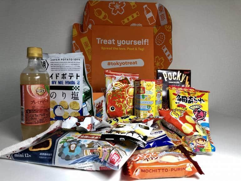 tokyo treat box contents