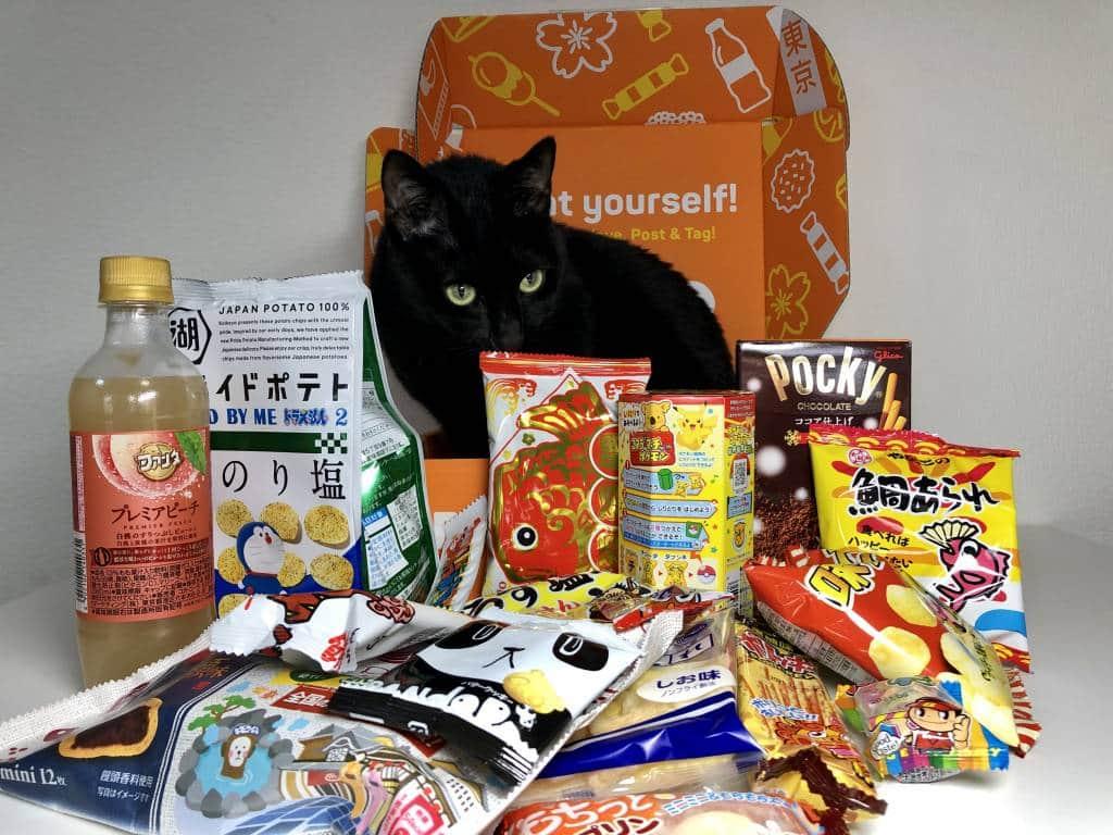 dot in tokyo treat box