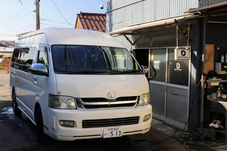 Van Pick up Dreamdrive