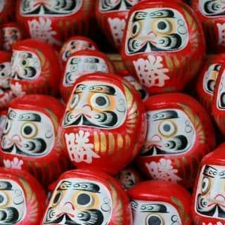 Jindaiji Temple Daruma Doll Fair