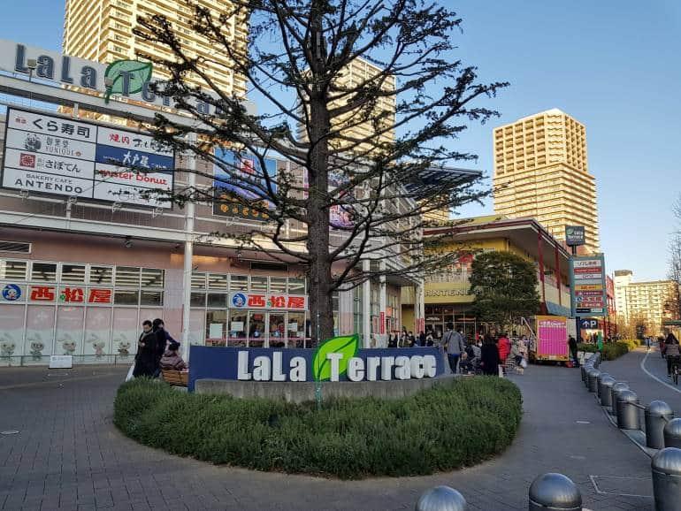 LaLa Terrace shopping center