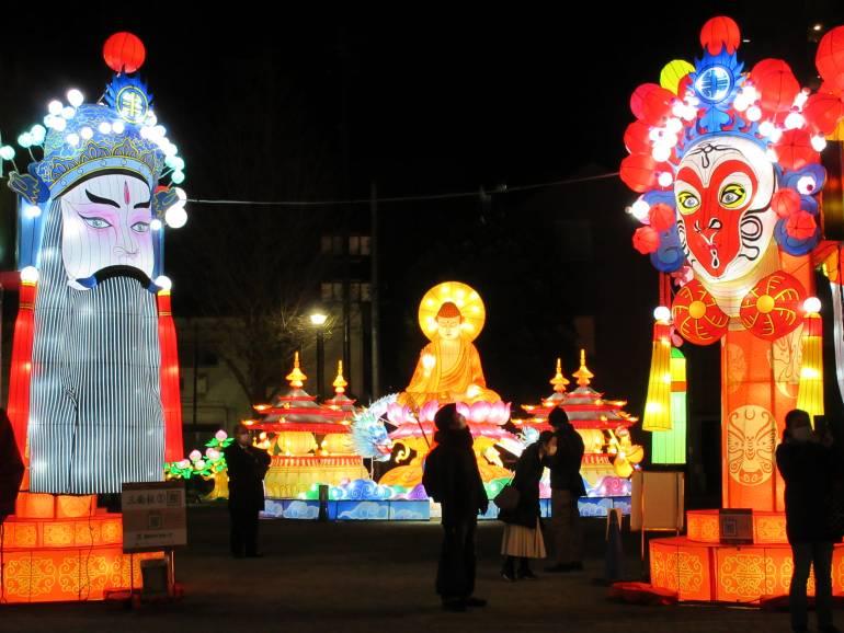 Yokohama Lunar New Year Lantern Pavilion