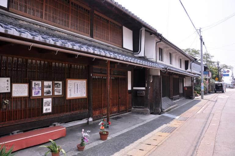 kinomoto wooden buildings