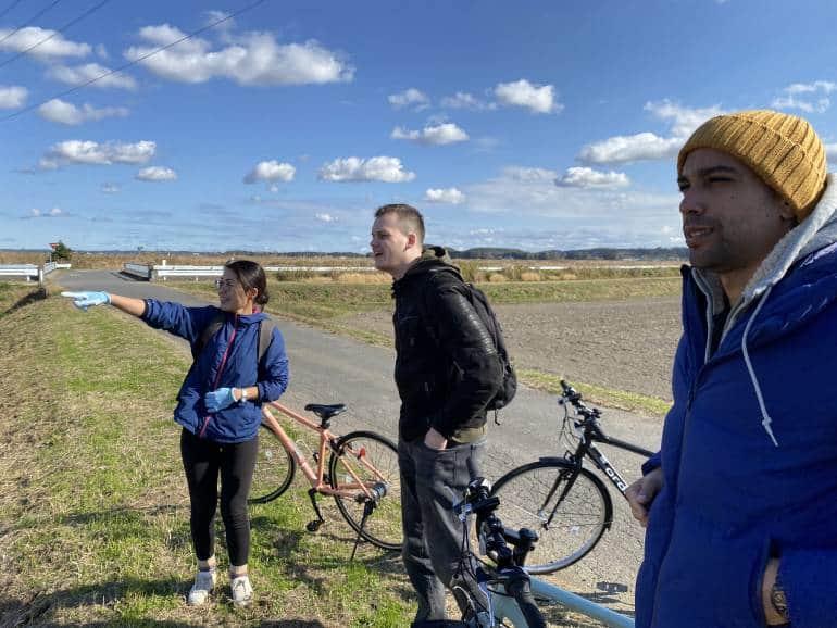 Inashiki cycling tour group