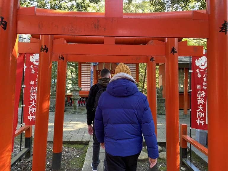 Osugi Shrine Inashiki torii