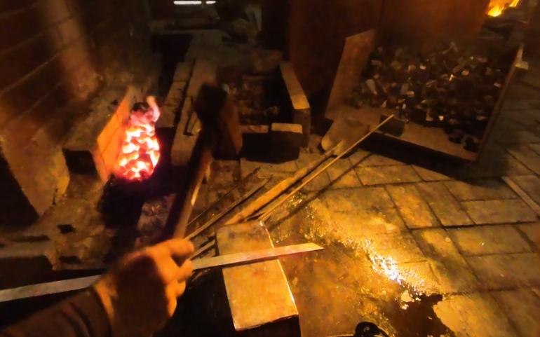 sword making
