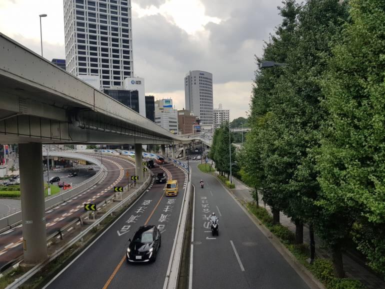 Roads near Akasaka Mitsuke