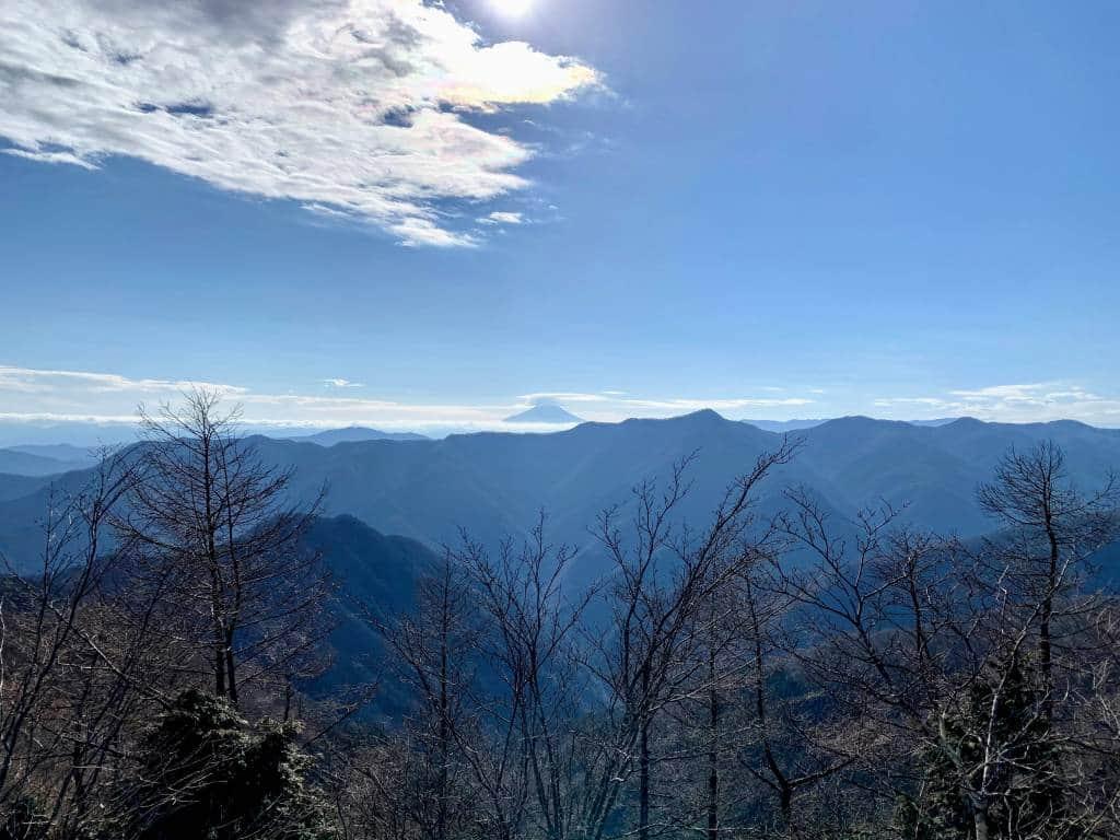 Mount Fuji from Mount Tenmoku