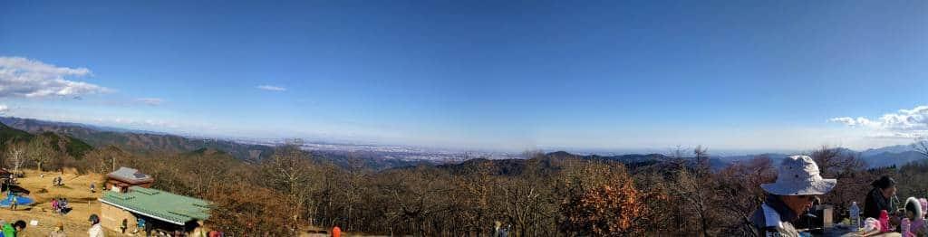 Panorama from Mt Jimba summit