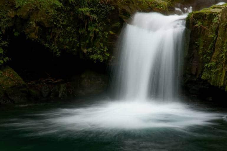 waterfall in kawazu