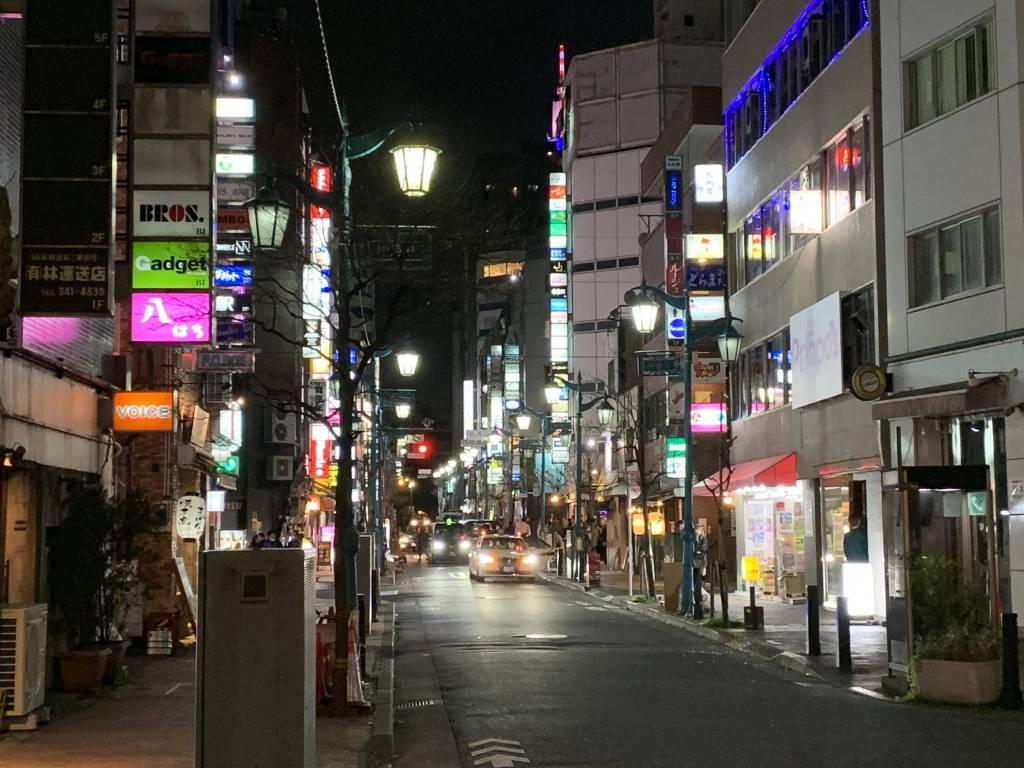 Shinjuku nichome at night - Tokyo gay district