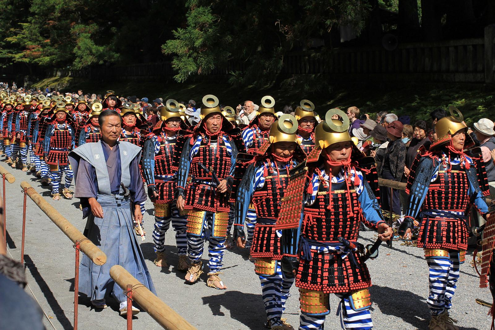 Togyo 1,000 Samurai Procession