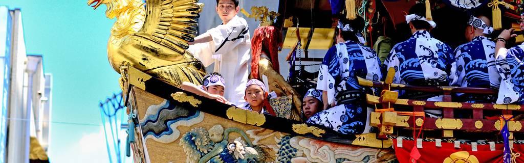 Gion Matsuri Grand Procession