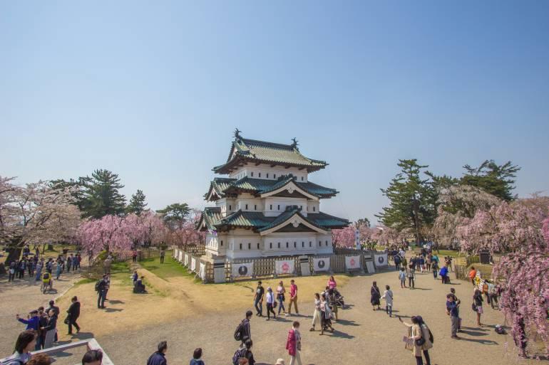 Hirosaki Castle, Aomori, Tohoku