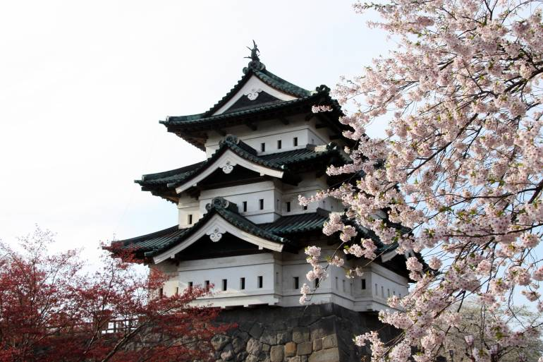 Hirosaki Cherry Blossom Festival, 23rd Apr–6th May, 2020