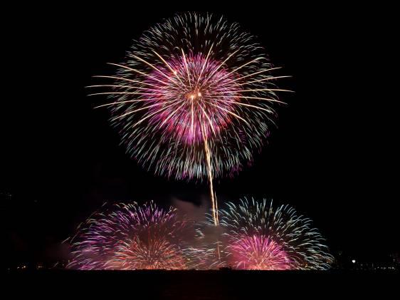 Lake Suwa Fireworks Festival  15th Aug  2019