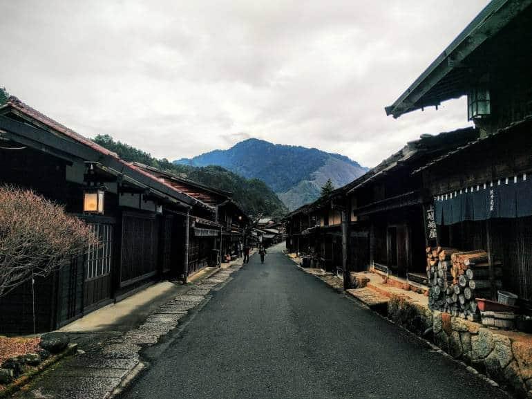 tsugamo street -Nakasendo trail hike