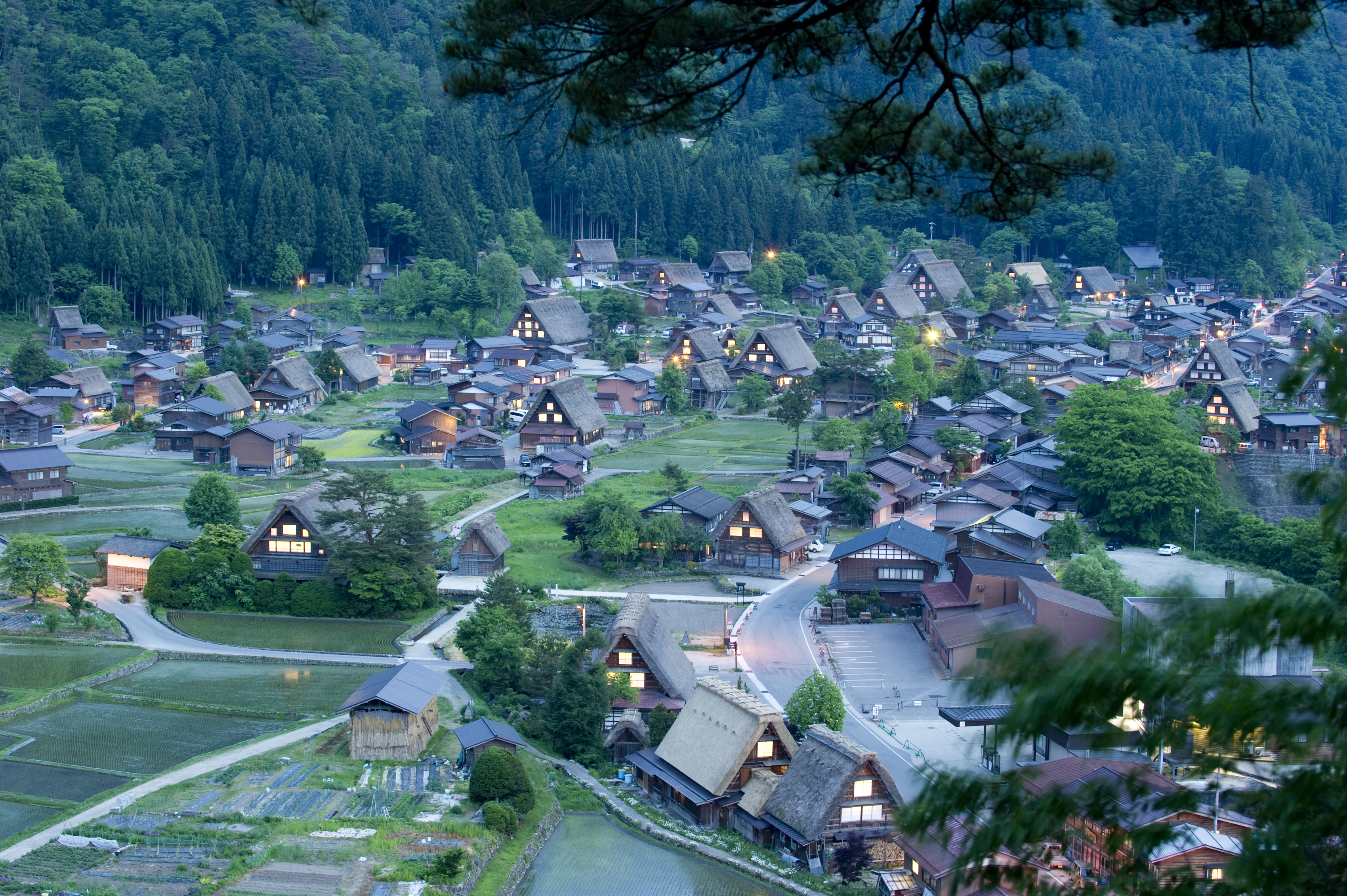 shirakawago gifu japan