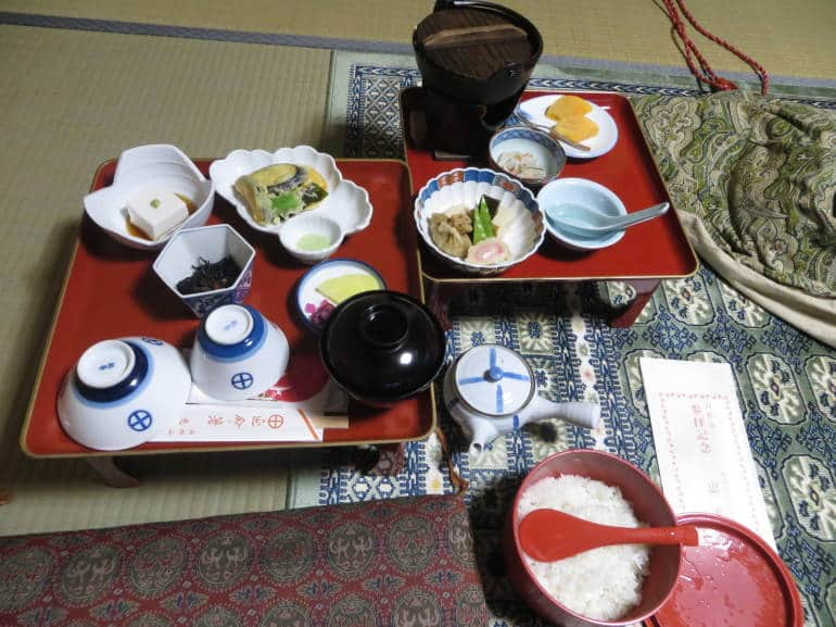 Delicious shojin ryori