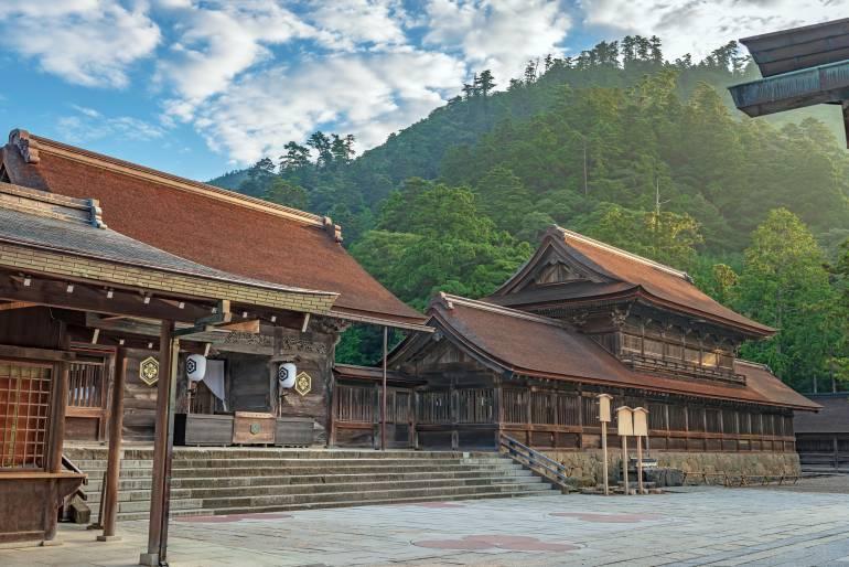 Shimane mountains