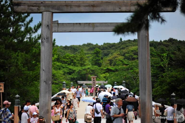 ise shrine entrance