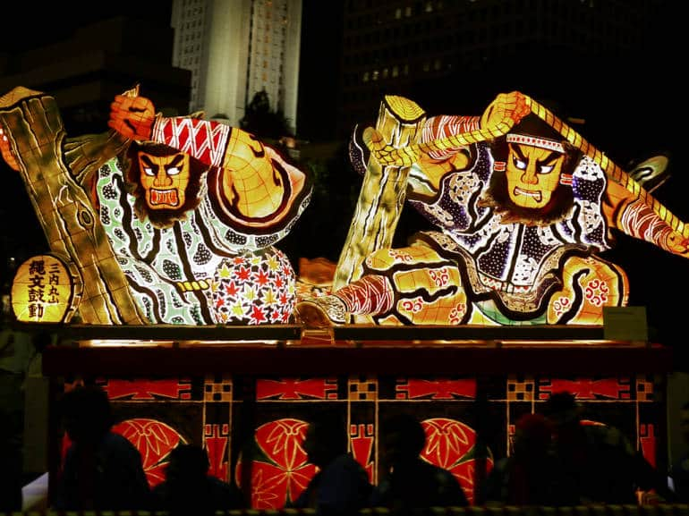 nebuta float