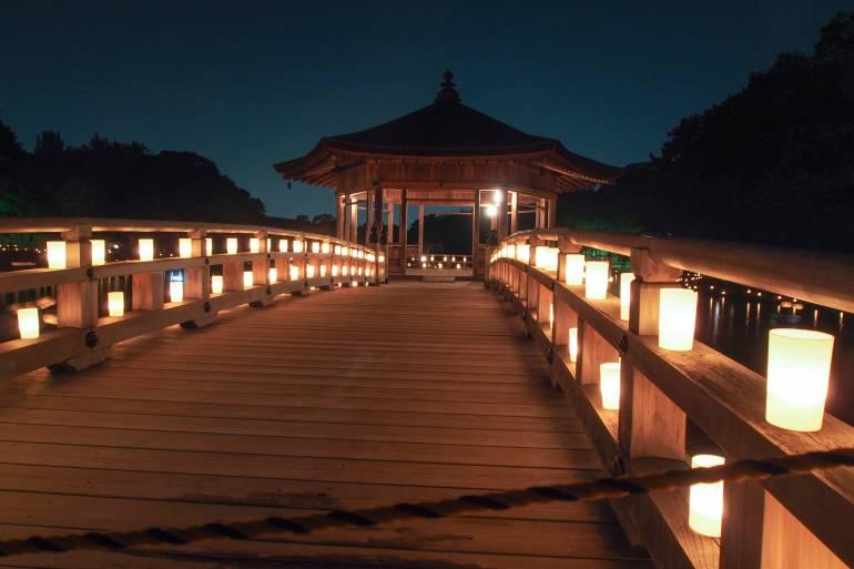 Nara light festivals