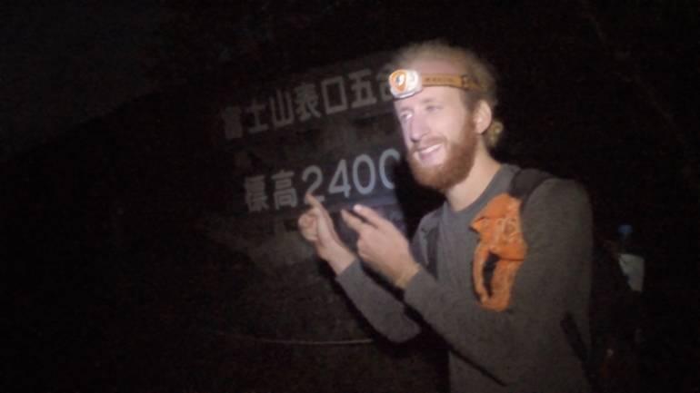 Climbing Mount Fuji Sea to Summit 20