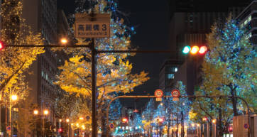 Winter Festival of the Lights in Osaka
