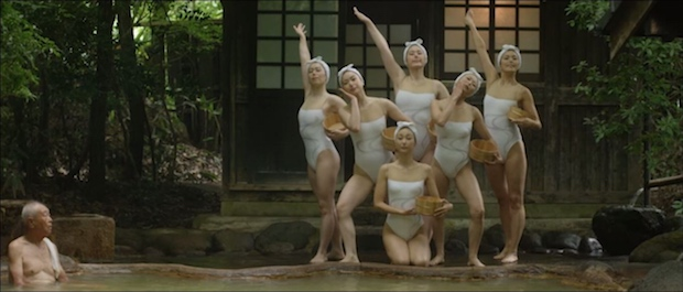 oita-prefecture-onsen-hot-spring-synchronized-swimming-promo-video-1