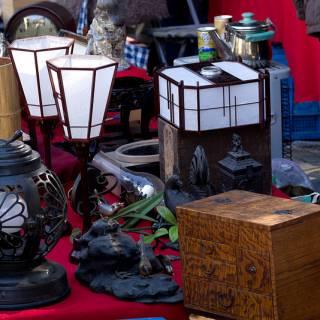 Bargain-Hunting at Kyoto Flea Markets