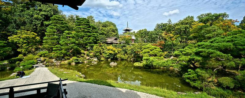 Ninnaji Temple: Maintaining Zen on a Budget