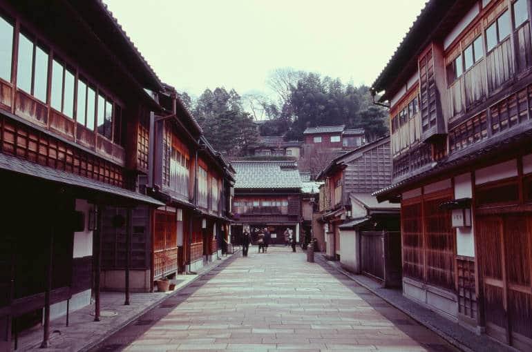 Kanazawa's old streets